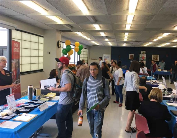 NVCC Hosts Students for Hire Job Fair
