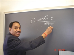 "NVCC Hosts ""The Real Science of Time Travel"" with Dr. Ronald Mallett at the Annual Minorities in STEM Seminar"