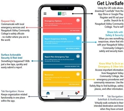 Naugatuck Valley Community College Launches Phone Safety App