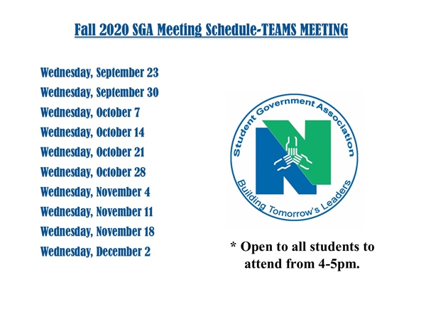SGA Virtual Meetings