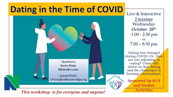 "Campus Conversation - ""Dating in the time of Covid"" - Daytime Session"