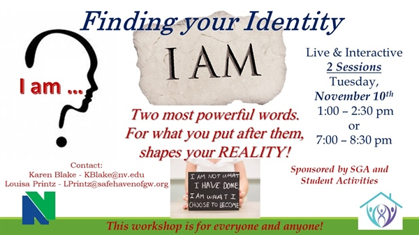 "Campus Conversation - ""Finding Your Identity"" - Daytime Session"
