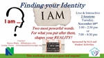 "Campus Conversation - ""Finding Your Identity"" - Evening Session"