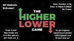 Higher/Lower Game