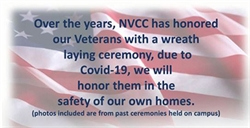 NVCC Recognizes Veterans with Virtual Ceremony and Video