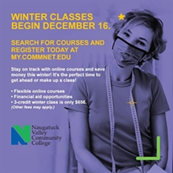 Naugatuck Valley Community College Offers Robust Selection of Winter Intersession Courses