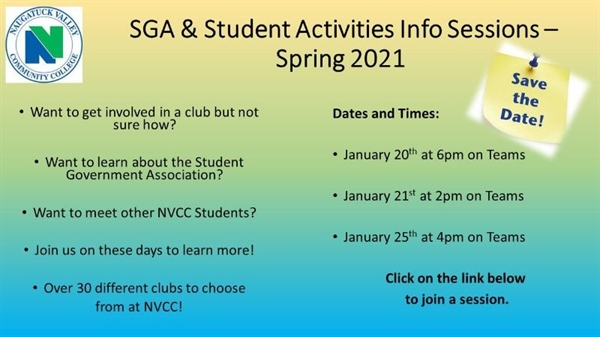 Info Session about Student Activities