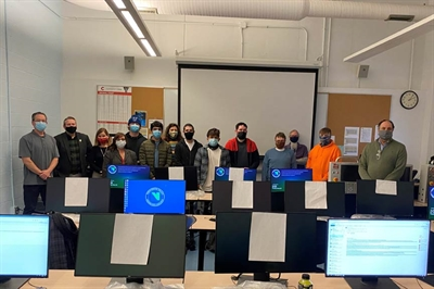 NVCC Welcomes Evening Cohort of Manufacturing Students