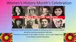 Ted Talk Discussion - Women's History Month