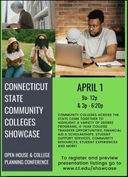 Naugatuck Valley Community College Staff Presenting at Community College Showcase