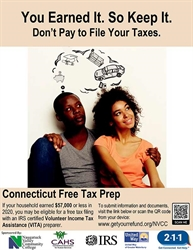 Naugatuck Valley Community College Students Qualify for Community Service Opportunity through VITA Tax Preparation