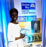 United Way of Greater Waterbury Honored Naugatuck Valley Community College Professor Kathy Taylor