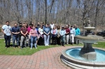 Naugatuck Valley Community College Celebrates Earth Day with a Campus Clean Up and Fountain Opening