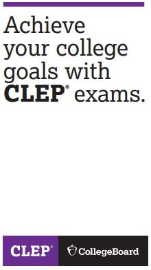 CLEP achieve your goals